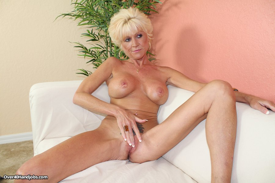 granny handjob with katja