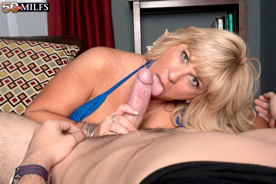 zena ray from 50 plus gives a superior blowjob in this tube video