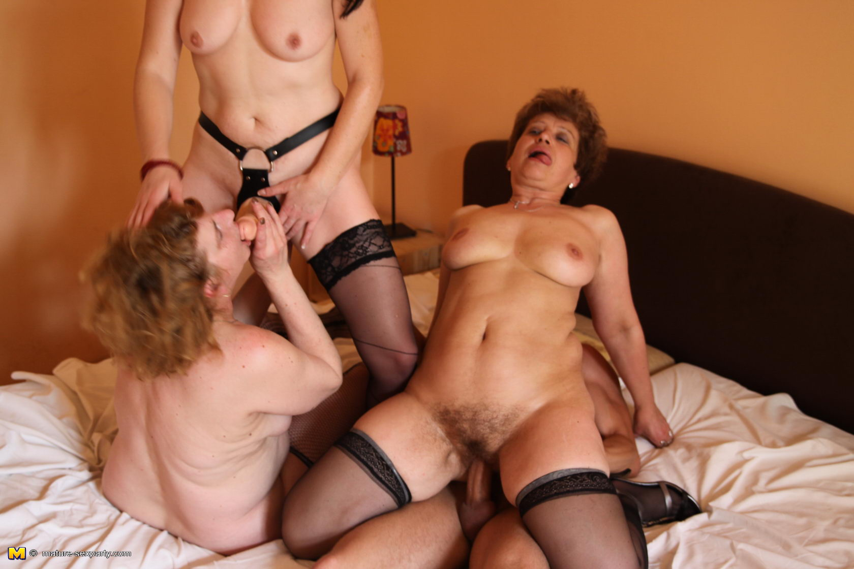 ugly milfs orgy #1