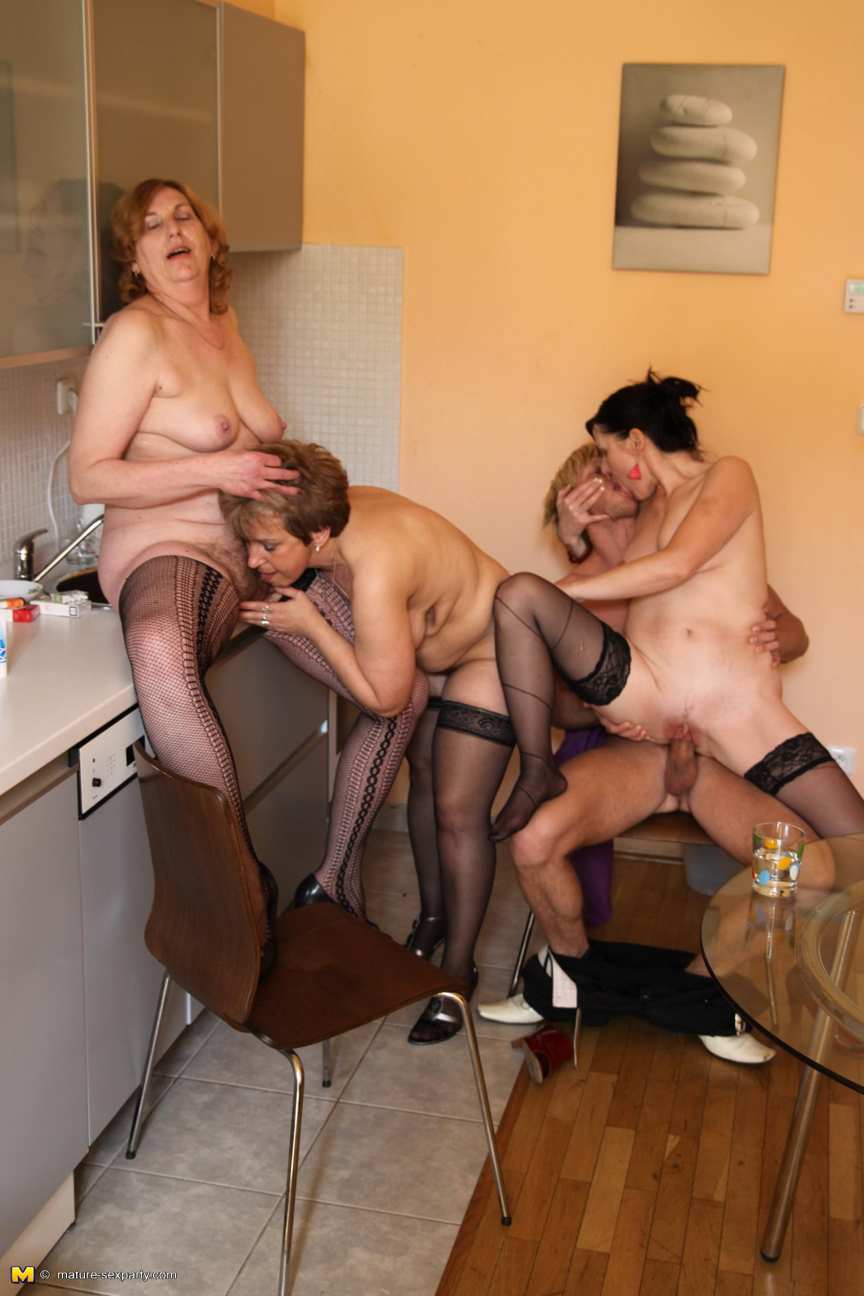 ugly milfs orgy #2