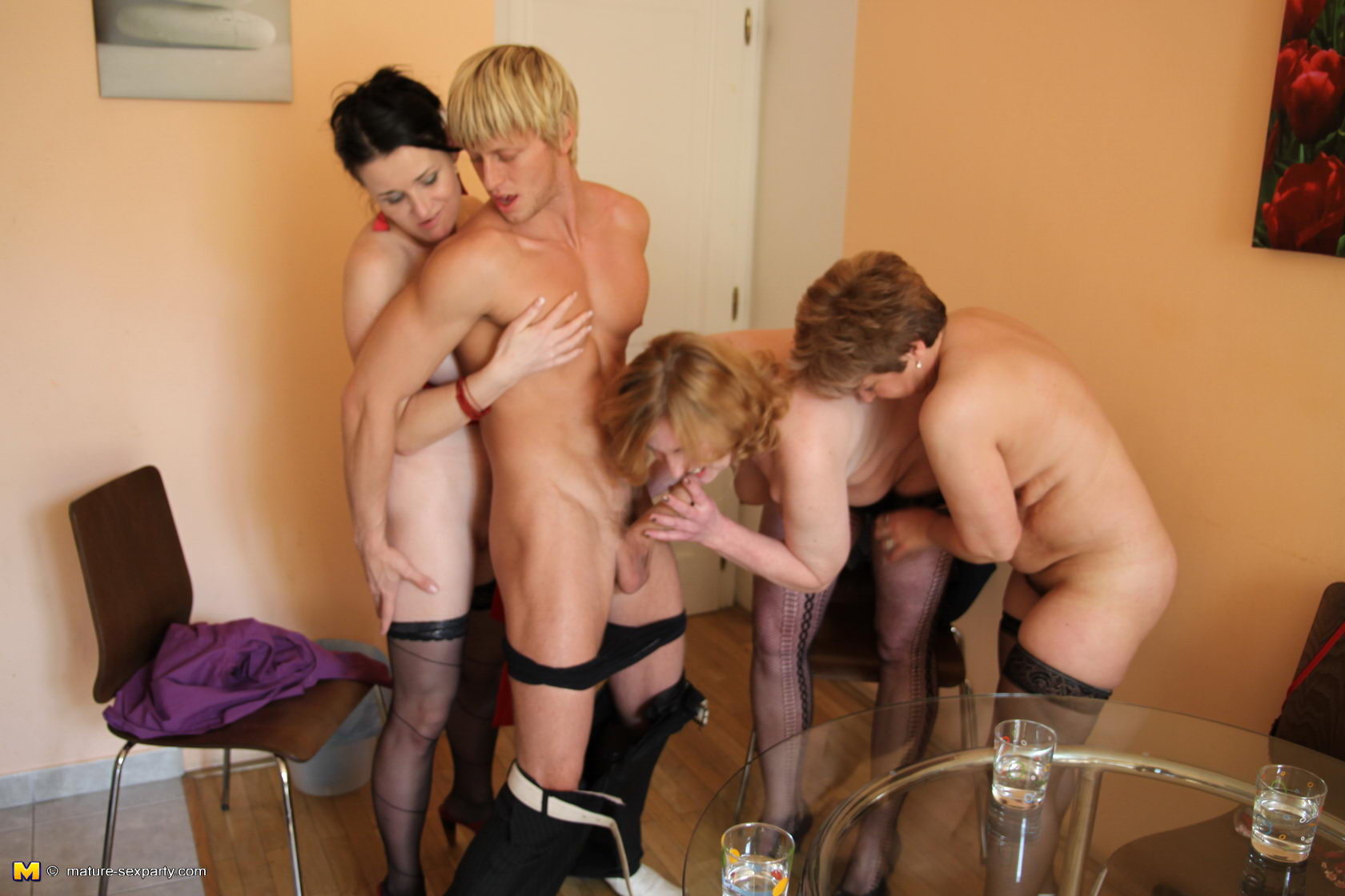 ugly milfs orgy #3